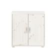 Flexa Classic ajtós szekrény fehérre pácolt fenyővázzal és fenyőelőlappal
