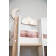Fehér létra és tölgy láb, NOR magas emeletes ágyhoz