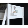 Könyvtartó polc, White  ágyhoz