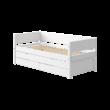 Flexa White alapágy 200, fehér, vendégággal, 2db fiókkal