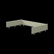 Flexa POPSICLE elő és hátlap leesésgátló kivi színben