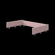 Flexa POPSICLE elő és hátlap leesésgátló cseresznye színben