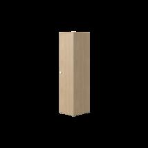Flexa POPSICLE 1 ajtós gardrób szekrény, kókusz színben