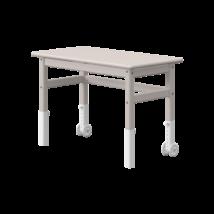 Classic 2 íróasztal. Állítható magasságú asztal, dönthető lappal, szürkére pácolt