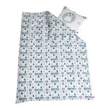 Ágyneműhuzat Baby ágyhoz kék színben