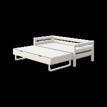 Flexa Classic alapágy 200, vendégággyal, fehér