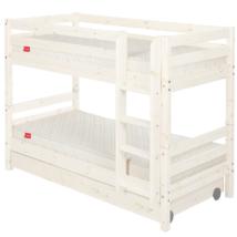 Emeletes ágy 2 db fiókkal, Classic 200, fehér