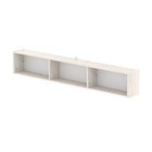 FLEXA CLASSIC Ágy alá szerelhető könyvespolc, fehér, 200