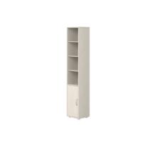 Flexa Classic 5 polcos szekrény, fehérre pácolt színben