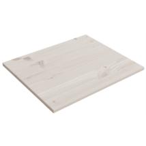 Szekrény polc, fehérre pácolt 2db/szett (68 x 52 cm)