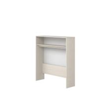 Flexa Classic polcrendszer íróasztalhoz, fehérre pácolt színben