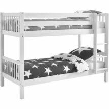 FLEXA NORDIC Emeletes ágy, fehér - CROSSBAR