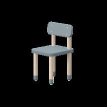 Play szék háttámlával, világoskék
