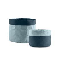 FLEXA Puha Tárolószett, fagyos kék (2db)