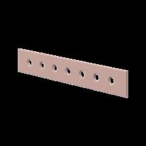 3/4-es Leesésgátló  200, White  ágyhoz, világos rózsaszín