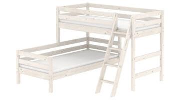 L alakú emeletes ágy, elfordított emeletes ágy