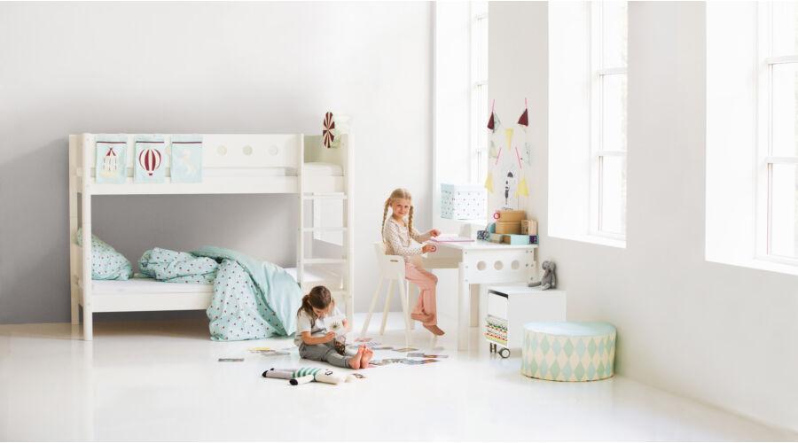Emeletes ágy , Flexa White 200  , fehér
