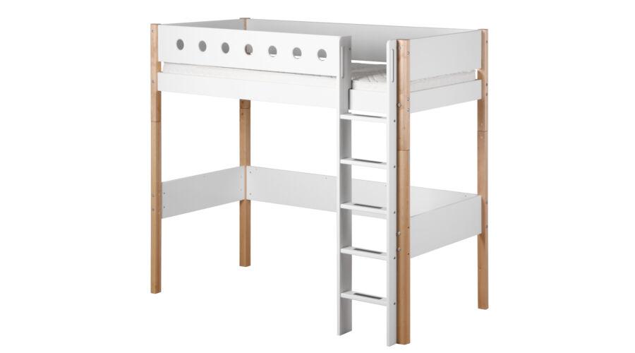 gal ria gy flexa white 190 feh r egyenes l tr val ny rfal bbal gal ria gy 184 cm magas. Black Bedroom Furniture Sets. Home Design Ideas