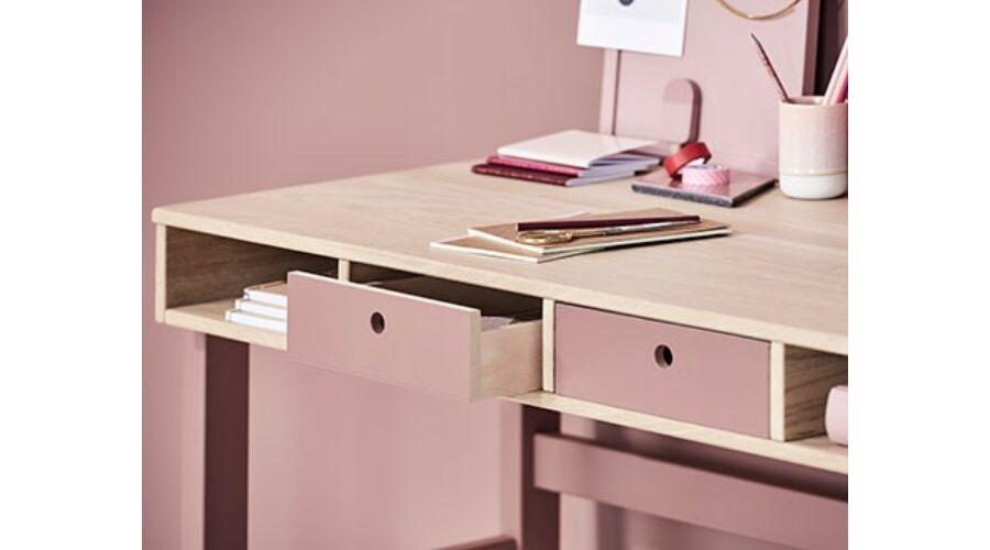 Flexa POPSICLE fiókok asztalokhoz, cseresznye színben